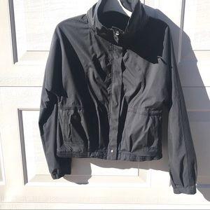 LULULEMON black zip Jacket 6 hidden hood